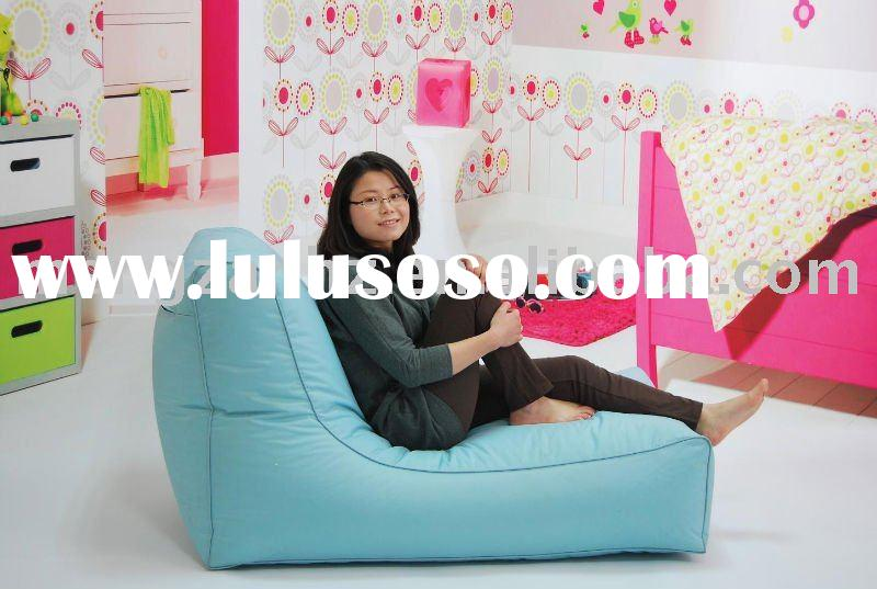 New modern freestyle colorful indoor nylon bean bag chaise lounge also for living room sofa chair