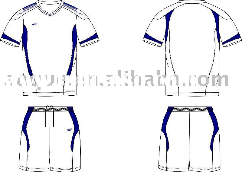 New soccer uniform design
