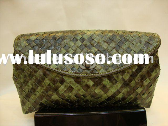 Newest snake skin fashion clutch bag,brand clutch bag,designer clutch bag.leather clutch bag,fashion