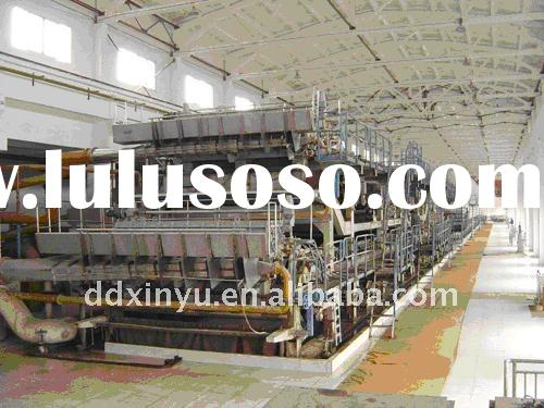 Newspaper machine, writign and printing paper machine, culture paper machine