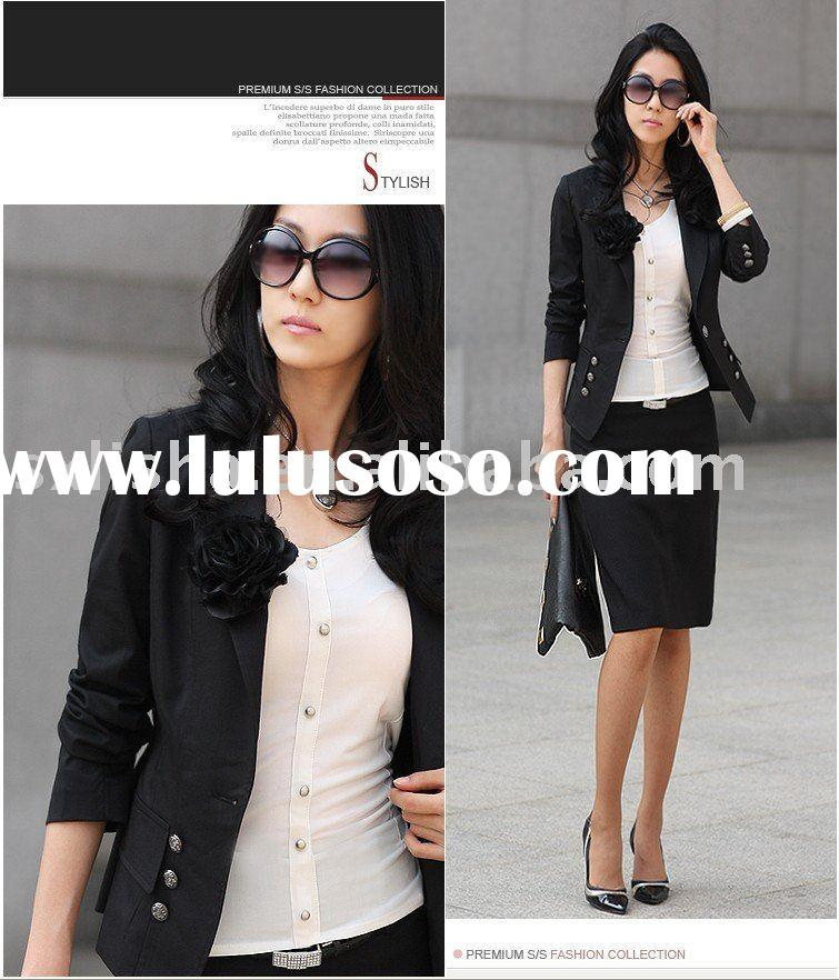Noble international fine 2011 new style women clothing suit jacket branded apparel