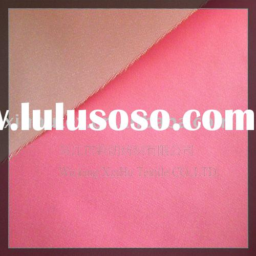 Nylon Polyester satin fabric / clothing material fabric / satin jacket fabric