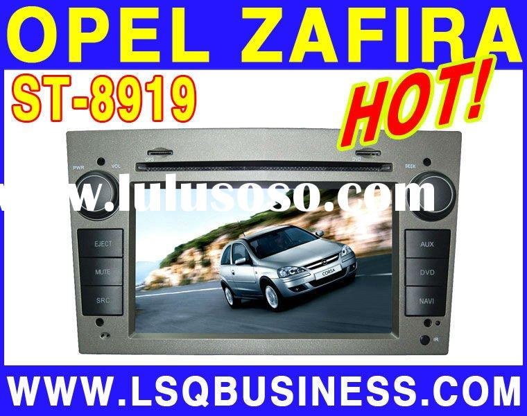 Opel Zafira Car dvd player with GPS Navigation function