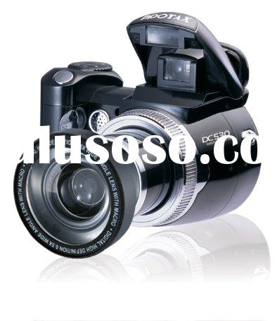 Optical Zoom Interchangeable Lens Digital Camera/Camcorder/Video DC530 with Wide Angle Lens