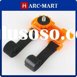 Orange Bicycle pod Action Mount for Camera Camcorder Canon Nikon Samsung, etc DSLR (CA045)