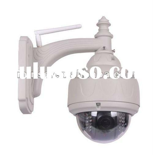 Outdoor Vandal-proof IR PTZ Speed Dome IP Camera