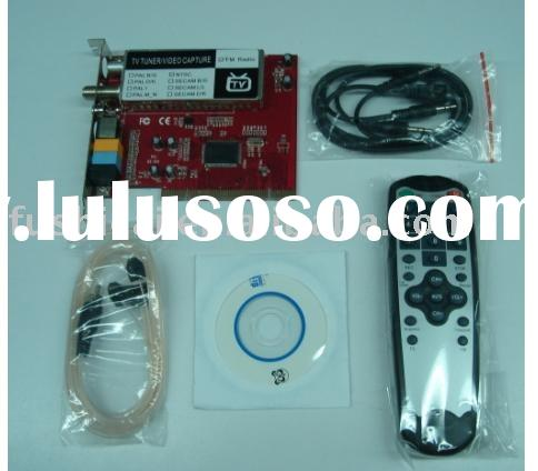 PCI TV Card / PC TV Tuner Card with FM
