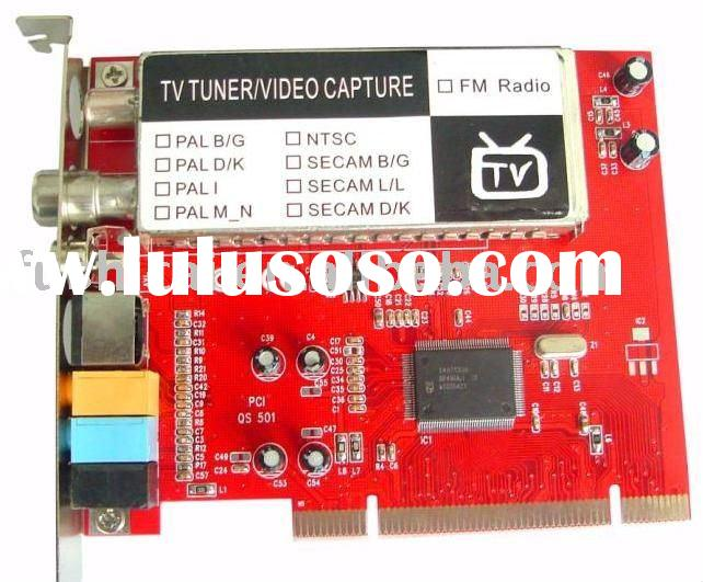 PCI TV Card / PC TV Tuner with FM