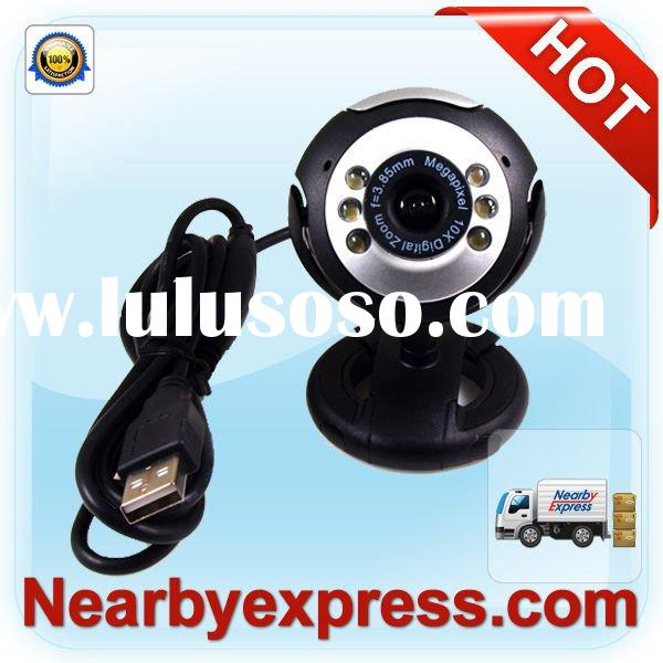 PC USB Webcam 8.0M with 6 LED Night Vision
