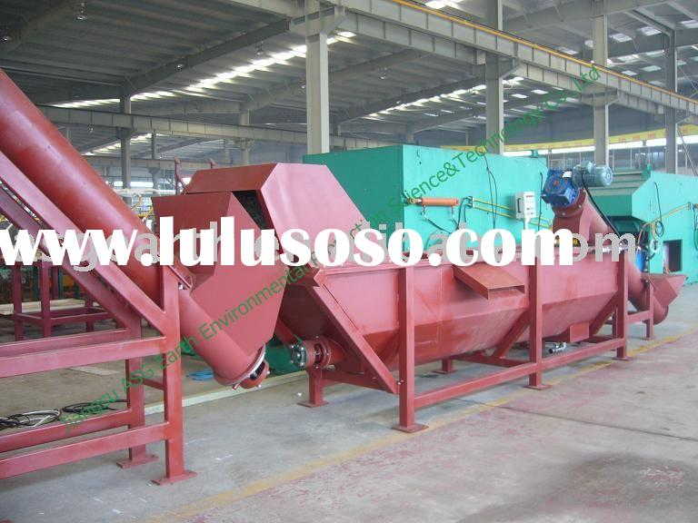 PET flakes Crushing Washing Drying Line plastic bottle recycling machinery