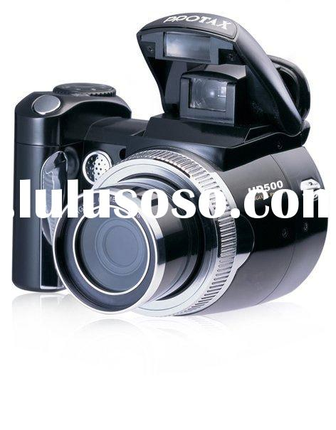 PROTAX/OEM High Definition Digital Camera/Camcorder/Video HD500 Multi-functions Suport MP3 MP4 and S