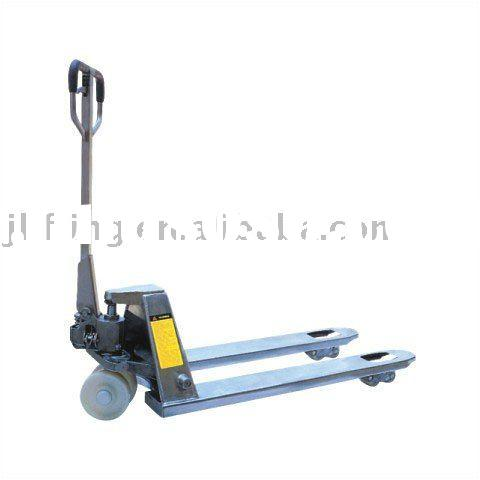 PTD-2500S Stainless (Inox) Hydraulic Manual Pallet Jack