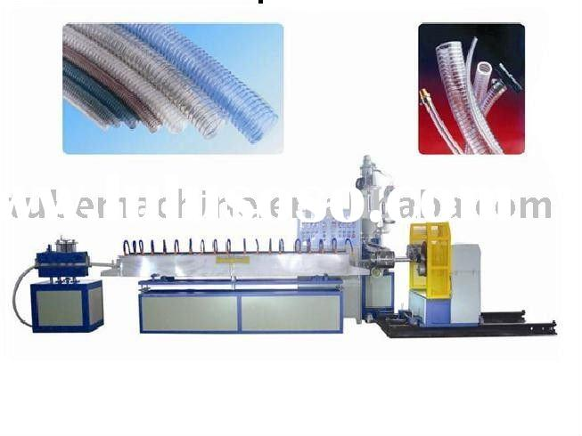 PVC Foil with wire round Flexible duct machine ATM-620
