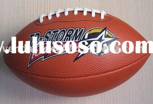 PVC Leather American Football, Rugby Ball