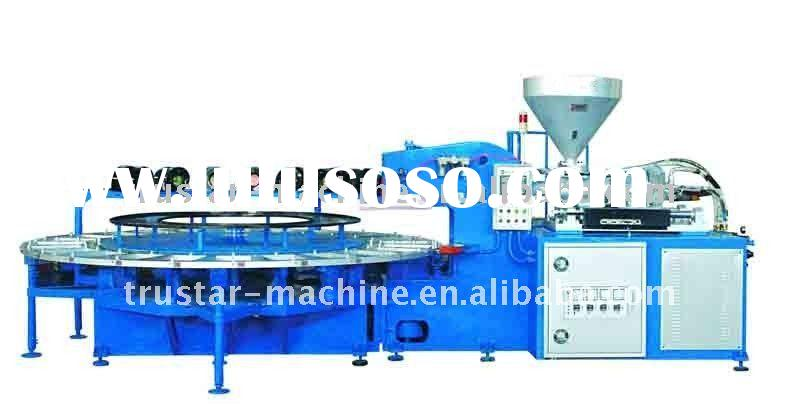 PVC Single Color Air Blowing Injection Molding Machinery