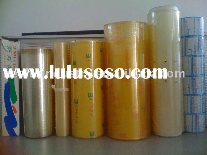 PVC cling films for food wrapping