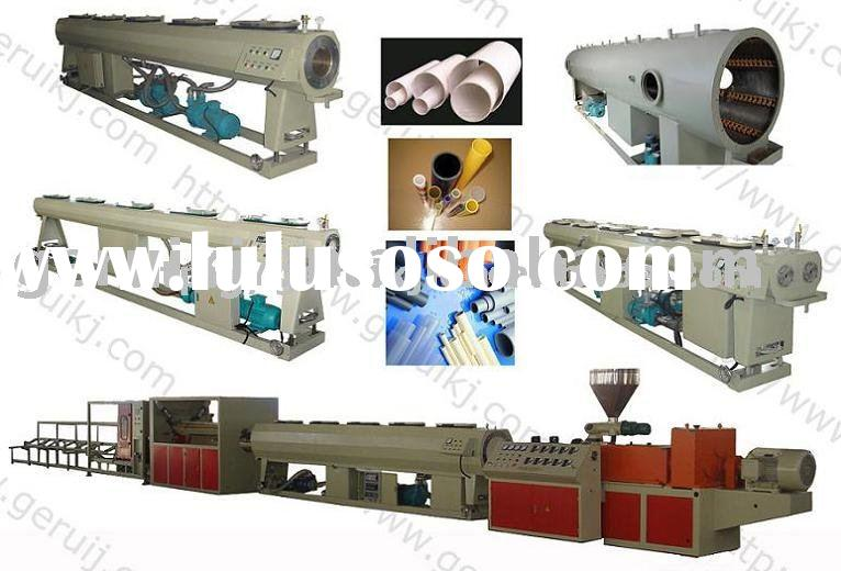 PVC pipe production line ,plastic machinery