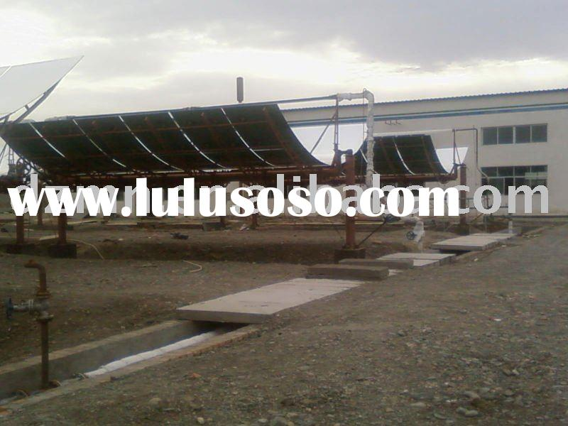 Parabolic Trough Solar Collector For Concentrated Solar Power Plant
