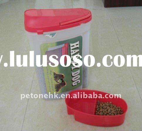 Pet 2-in-1 Food Container, Pet food storage/Barrel set