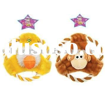 Pet Products-Plush Dog Toys (Frisbees)(P3065, P3053)