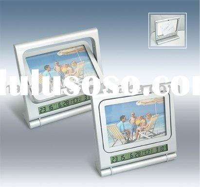 Photo Frame digital clock&LCD and calendar clock