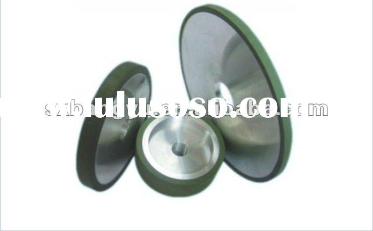 Plain resinoid binder abrasive grinder wheel