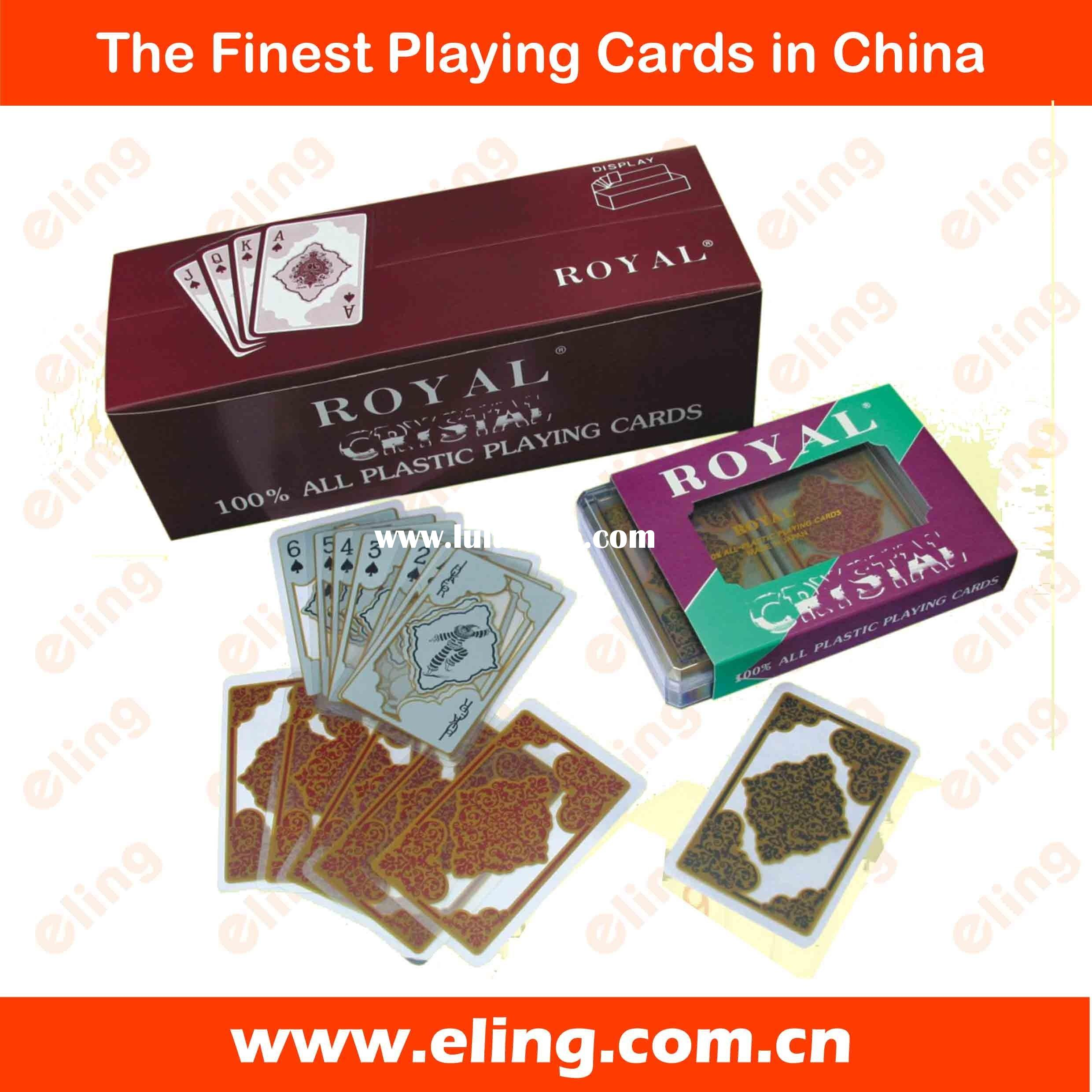 Plastic Playing Cards ( Transparent PVC available )