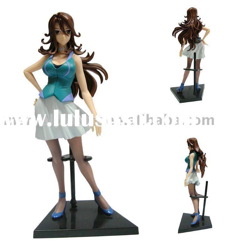 Plastic female figure