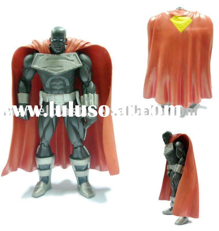 Plastic superman toy