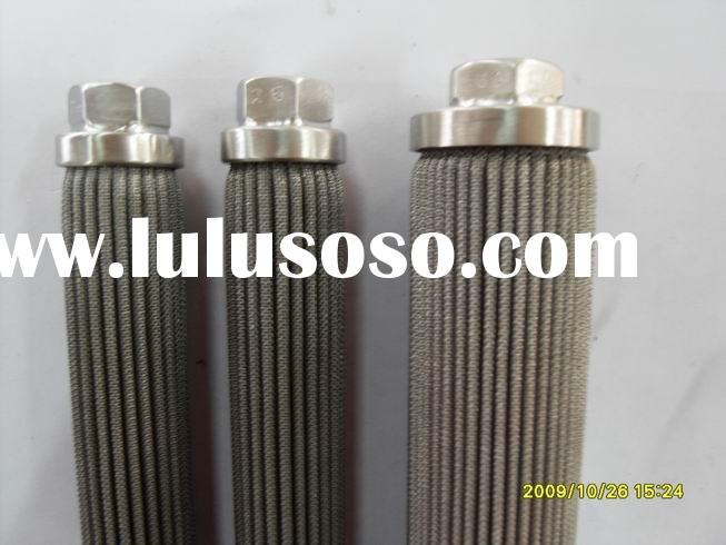 Pleated polymer filter core, Polyester filter cartridge, filter drier core