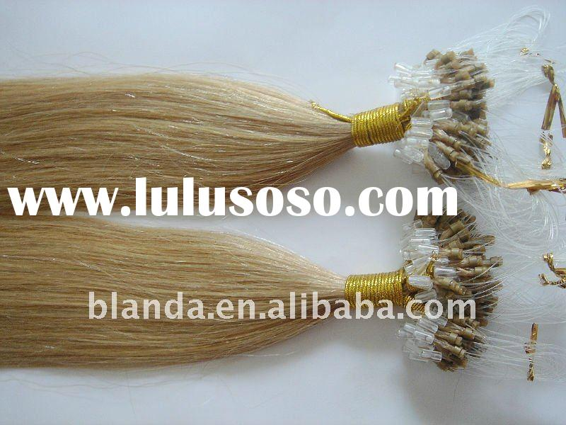 Plus Malaysian Micro link/ ring loop hair extension