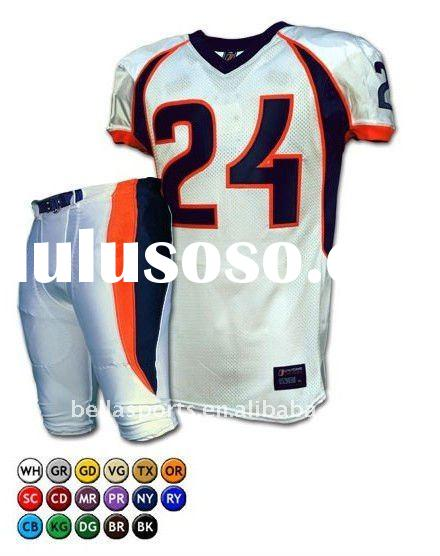 Plus Size Relax American Football Jersey With Padded Thigh American Football Jersey