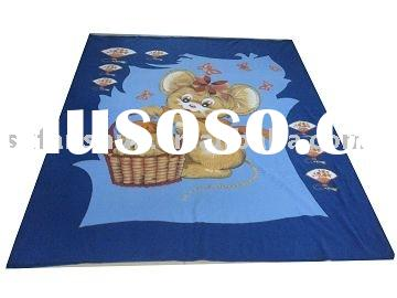 Polar fleece blanket(two side brushed)