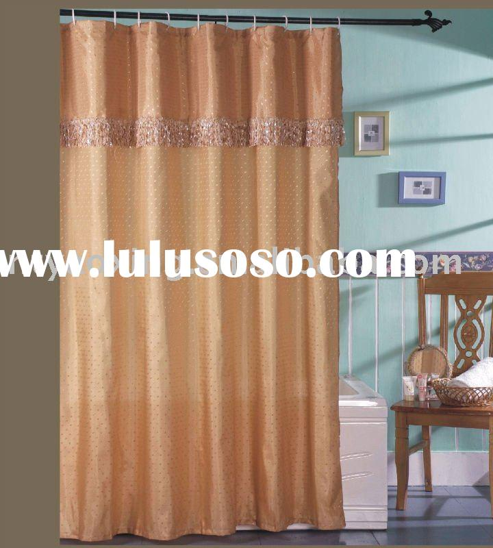 yellow shower curtain with valance, yellow shower curtain with ...