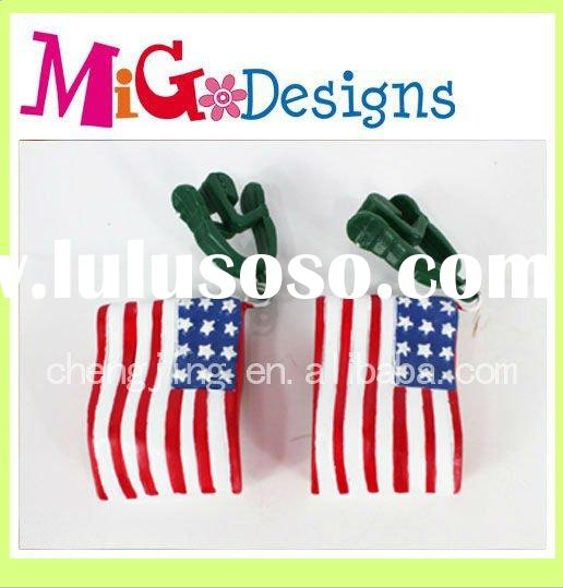 Polyresin United States flag Tablecloth Clip,Tablecloth Clamp,Tablecloth Weight clip