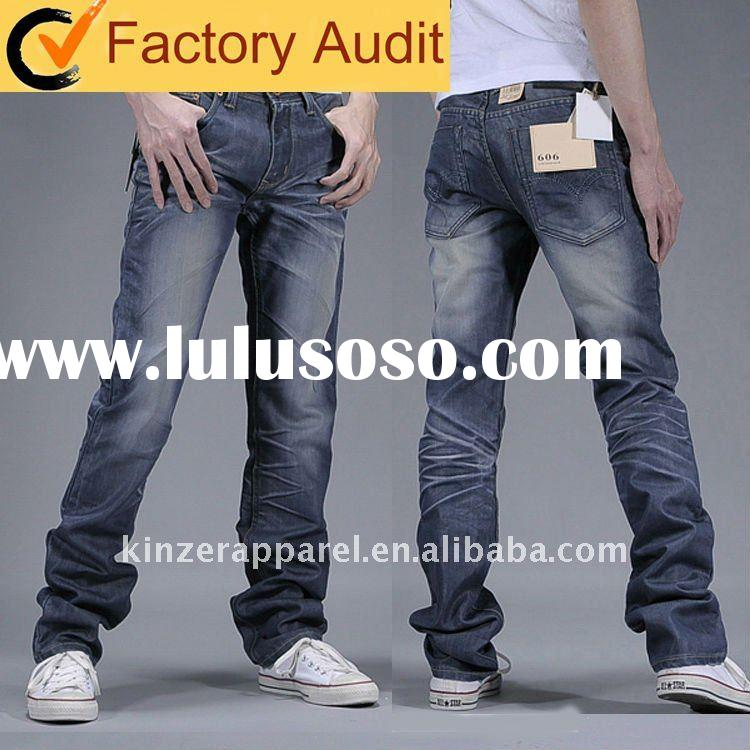 Popular men's jeans fashion in 2011