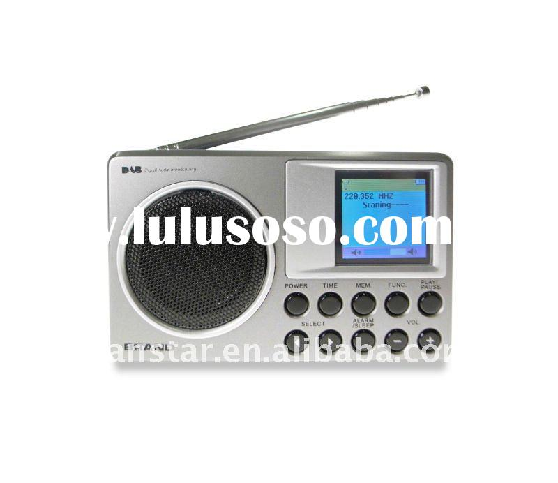 Portable DAB/DAB+ Digital Receiver Radio with FM PLL RDS Color LCD Display DA690