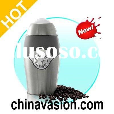 Portable Stainless Steel Coffee/Nut/Grain Mill and Grinder