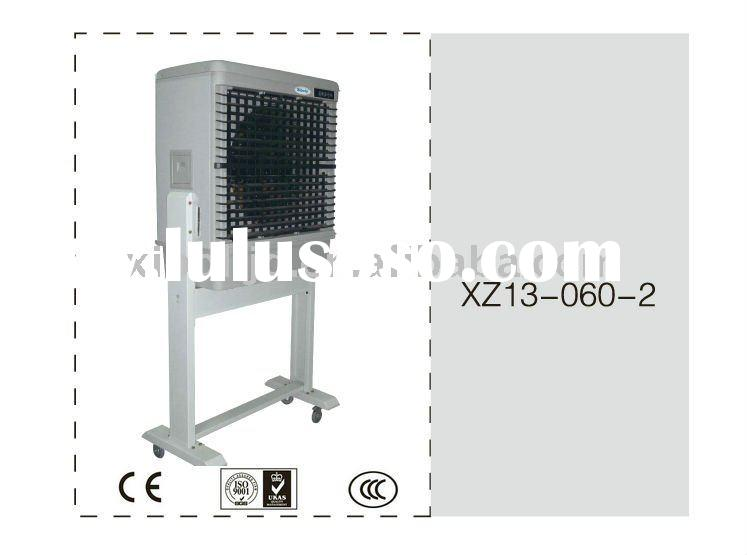 Portable water cooled evaporative air conditioner