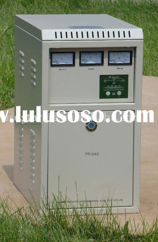 Power inverter for wind and solar system
