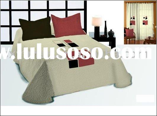 Pre-Washed Embroidery Cotton Bedding Set