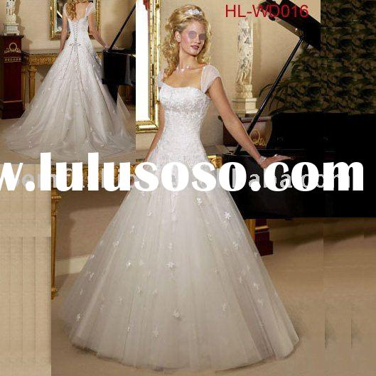 Princess Style wedding dresses Bridal gowns HL-WD016