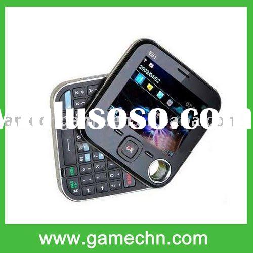 Quad-band dual sim dual standby+rotating screen+TV mobile phone --- E81