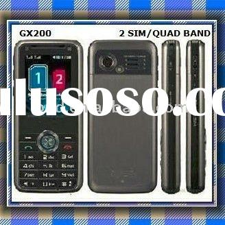 Quad band dual sim mobile phone GX200