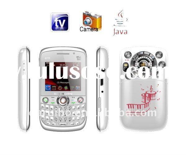 Qwerty Mobile phone with TV camera --Q777