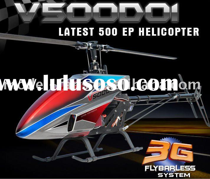 RC Helicopter Walkera V500D01 Flybarless Radio Control Toys Helicopter With WK-2801PRO