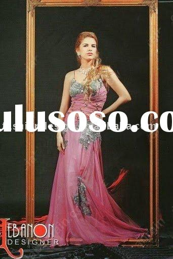RE092 2010 stylish bridesmaid dress prom dress party dress arabic evening dresses