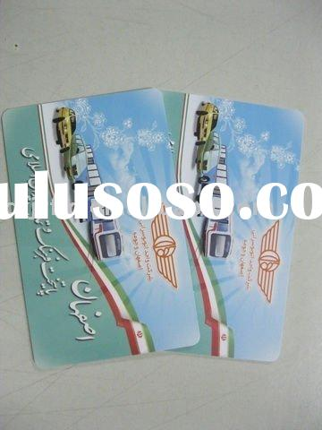 RFID card for bus and train e-ticket