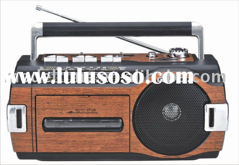 Radio Cassette Recorder/Radio Cassette Player/Cassette Player with Tape AUTO-REVERSE