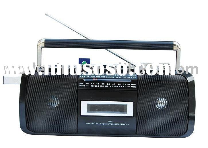 Radio Cassette Recorder with USB/SD Card function ,Radio Cassette Player,Cassette Player with Radio